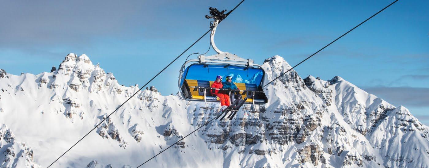 Skifahren Schlick2000